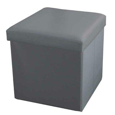 Storage Ottoman Upholstery: Grey