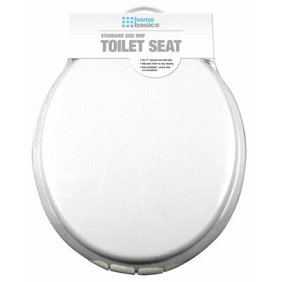 MDF Elongated Toilet Seat