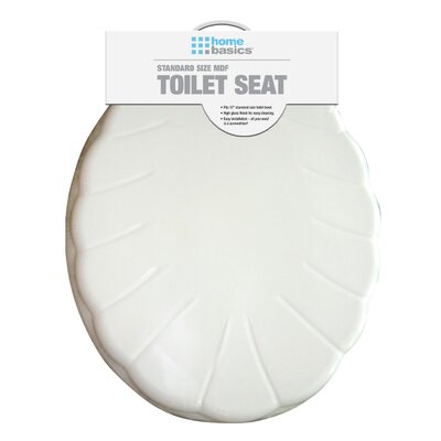 MDF Shells Elongated Toilet Seat