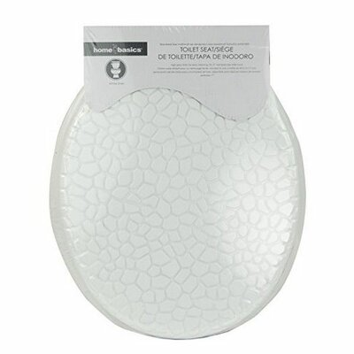 MDF Pebbles Elongated Toilet Seat