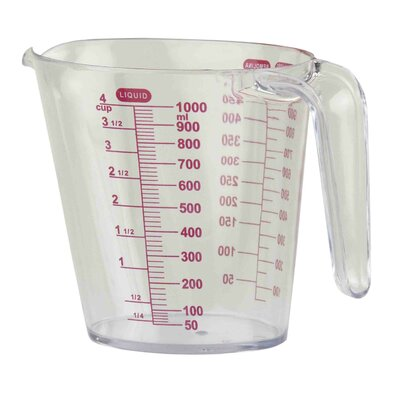 4-Cup Plastic Measuring Cup MC41151