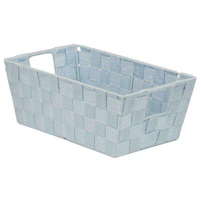 Strap Handle Non-Woven Basket Color: Gray REBR2215 39340267