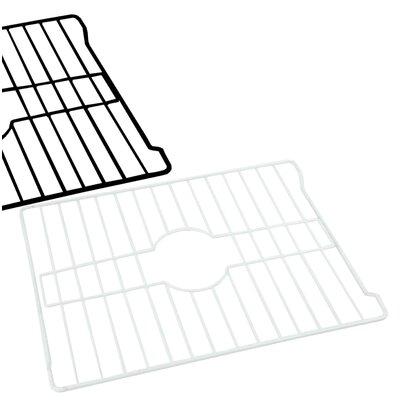 16 x 12.5 Sink Grid Finish: White