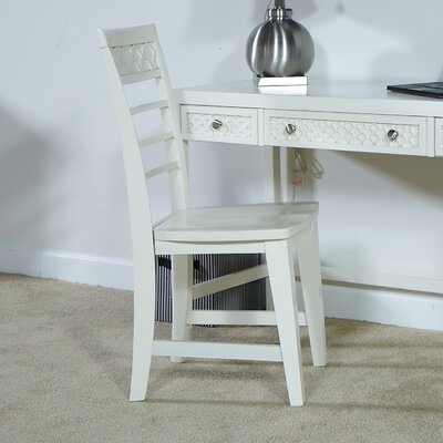 Amanda Side Chair Finish: Dove Grey
