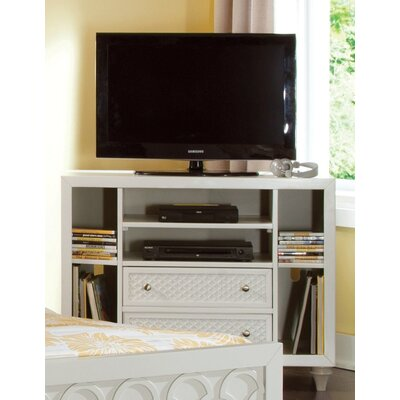 Amanda 2 Drawer Media Chest Color: Bright White