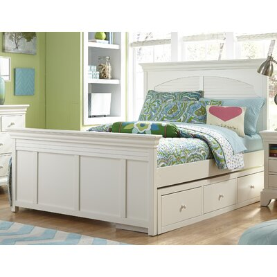 Neopolitan Platform Bed Size: Twin, Finish: Driftwood Grey