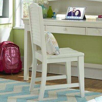 Crawfordville Solid Wood Dining Chair Finish: Bright White