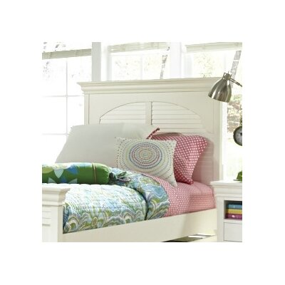 Neopolitan Panel Headboard Size: Full, Finish: Bright White