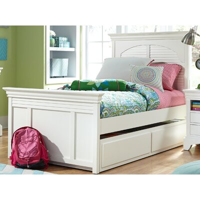 Crawfordville Platform Bed Size: Twin, Color: Driftwood Grey