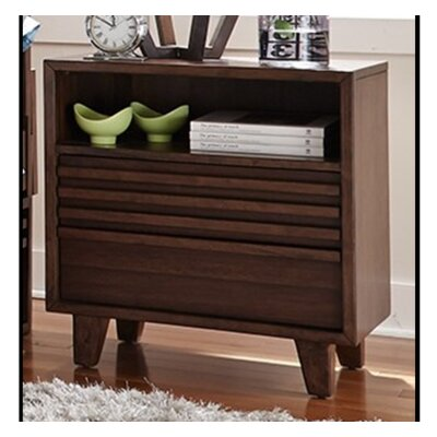 Schuster 2 Drawer Nightstand