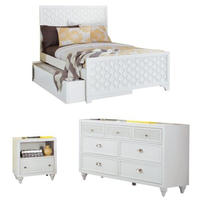 Amanda Panel Customizable Bedroom Set