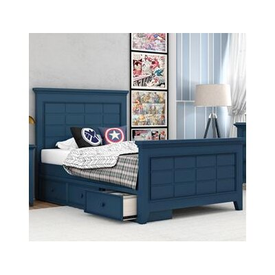 Inwood Complete Bed Size: Queen, Color: Willliamsburg Blue