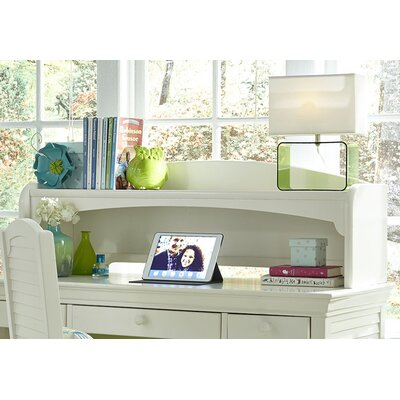 Crawfordville 46 W Writing Desk Hutch Finish: Bright White