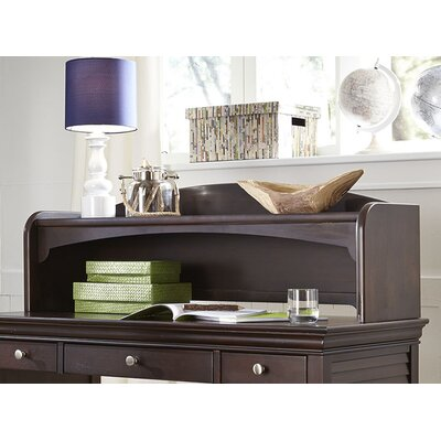 Crawfordville 46 W Writing Desk Hutch Finish: Merlot