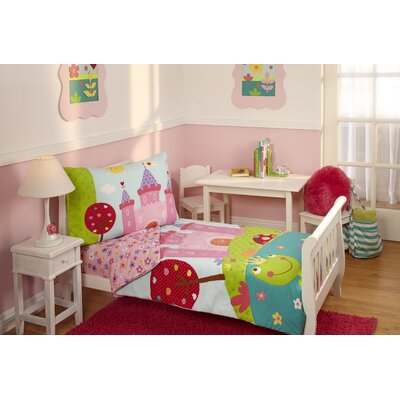 Everything Kids 4 Piece Fairytale Toddler Bedding Set 5165416