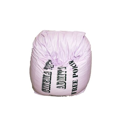 Bean Bag Chair Upholstery: Pink
