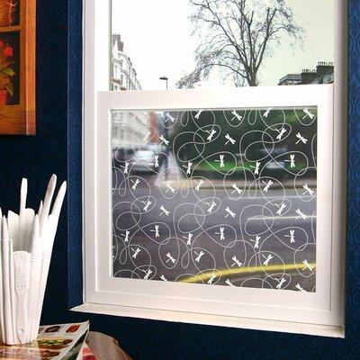 Dragonflies Sheer Window Film N1003S