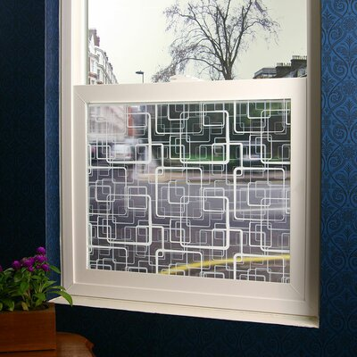 Squares Sheer Window Film R3002S