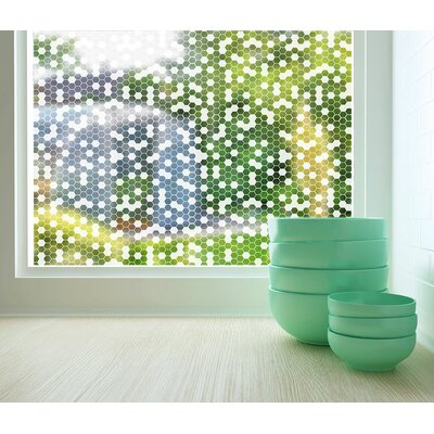 Honeycomb Sheer Window Film G4008S