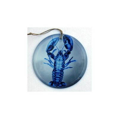 Lobster Frosted Glass Ornament Orn206