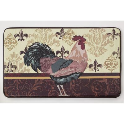 Cushioned Imperial Rooster Chef Mat