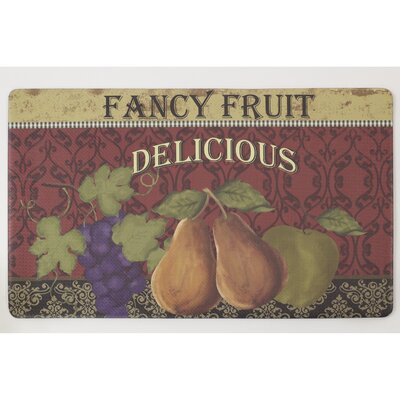 Fancy Fruit Anti-Fatigue Comfort Chef Mat