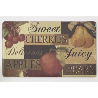 Scrumptious Fruit Anti-Fatigue Comfort Chef Mat
