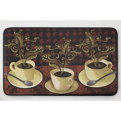 Cushioned Lotus Caf� Chef Mat