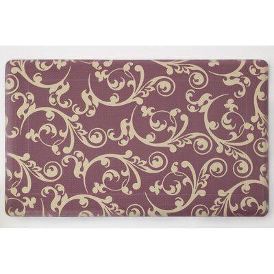 Anti-Fatigue Comfort Figaro Chef Mat Color: Barn Brown / Linen