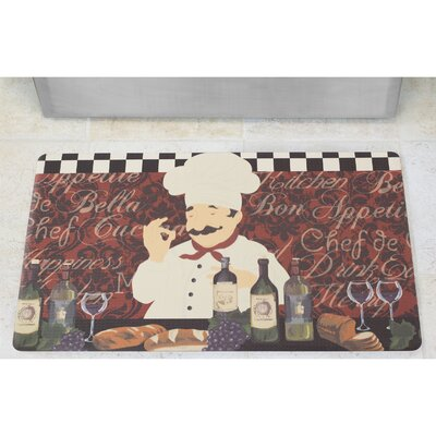 Chef De Cuisine Anti-Fatigue Comfort Chef Mat