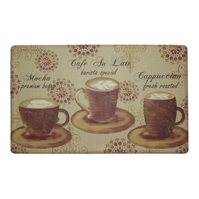Barista Special Anti-Fatigue Cushioned Chef Kitchen Mat Rug Size: 18 X 30