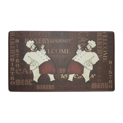 Master Anti-Fatigue Cushioned Chef Kitchen Mat Rug Size: 18 X 30