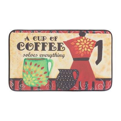 Coffee Mama Anti-Fatigue Kitchen Mat