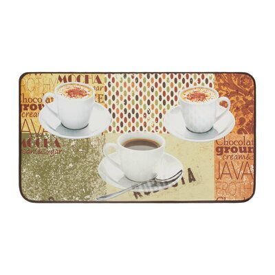 Coffee Patch Anti-Fatigue Kitchen Mat