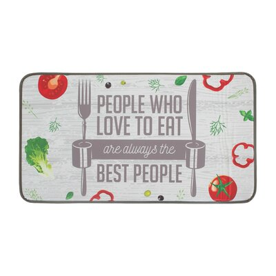 The Best People Anti-Fatigue Kitchen Mat