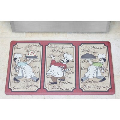 Cardiff Chef of the Year Anti-Fatigue Gelness Comfort Kitchen Mat