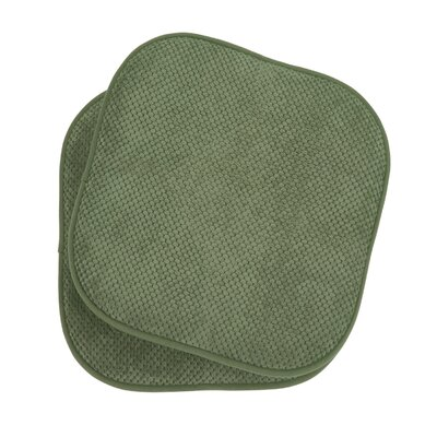 Bon Appetite Dining Chair Cushion Fabric: Fern Green