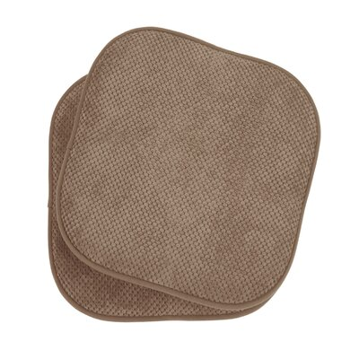 Bon Appetite Dining Chair Cushion Fabric: Linen