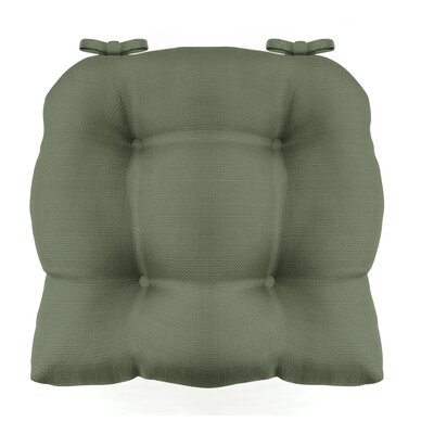 Madison Chair Cushion Fabric: Sage