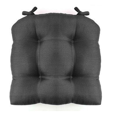 Madison Chair Cushion Fabric: Grey