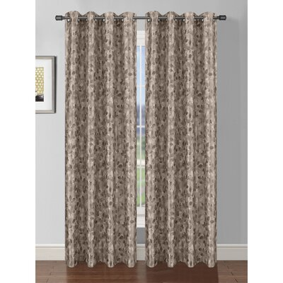 Pinehurst Room Darkening Extra Wide Thermal Single Curtain Panel