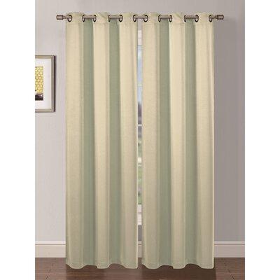 Bella Luna Ana Curtain Panels (Set of 2) - Color: Beige