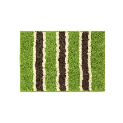Microfiber Ace Bath Mat Size: 16 x 24, Color: Lime