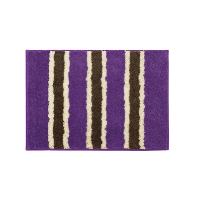 Microfiber Ace Bath Mat Size: 16 x 24, Color: Purple