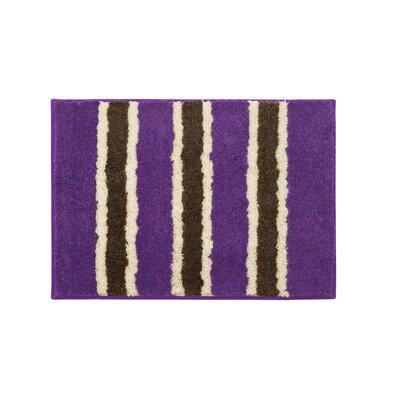 Microfiber Ace Bath Mat Size: 16 x 24, Color: Purple