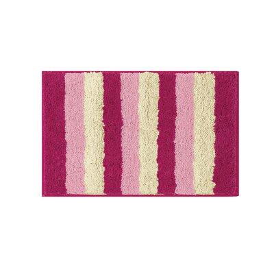 Microfiber Radella Bath Mat Size: 16 x 24, Color: Fuchsia