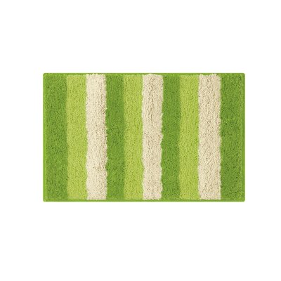 Microfiber Radella Bath Mat Size: 16 x 24, Color: Lime