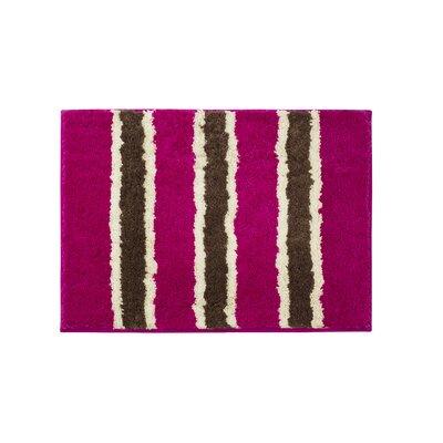 Microfiber Ace Bath Mat Size: 16 x 24, Color: Fuchsia