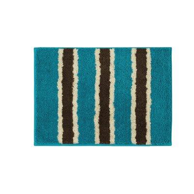 Microfiber Ace Bath Mat Size: 16 x 24, Color: Teal