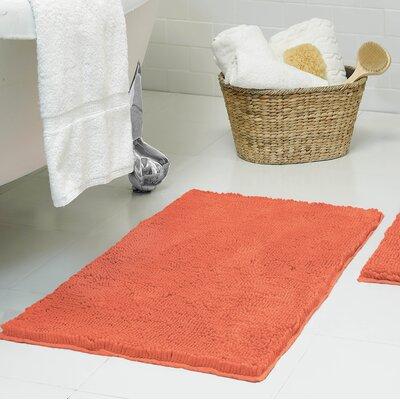 Chenille Plush Bath Mat Size: 17